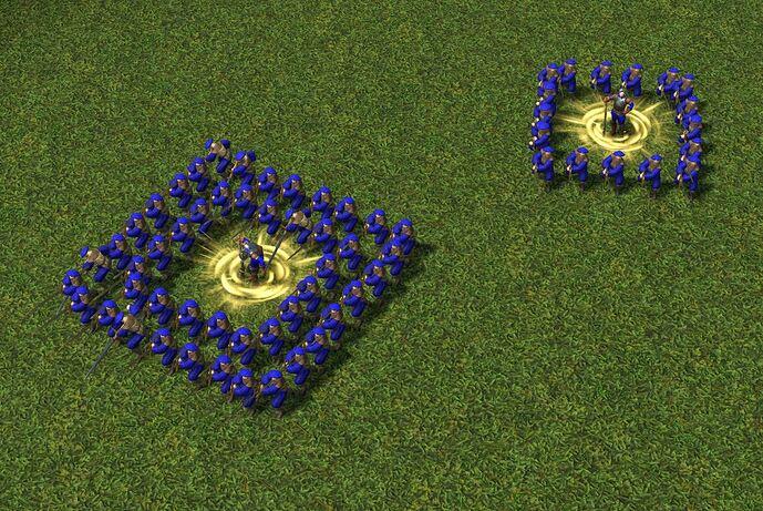 non-single box formation