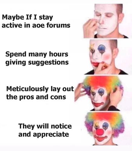 AOE clown