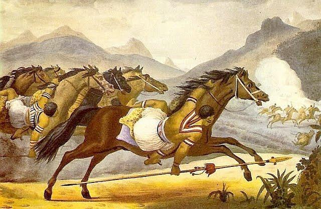 charruas cavaleiros