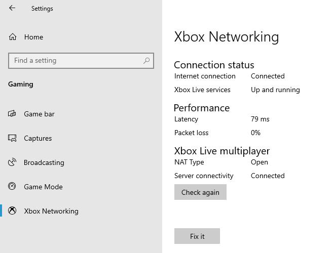 XboxNetworking