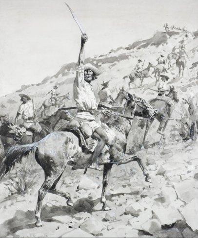 Uprising_of_Yaqui_Indians_Remington_1896