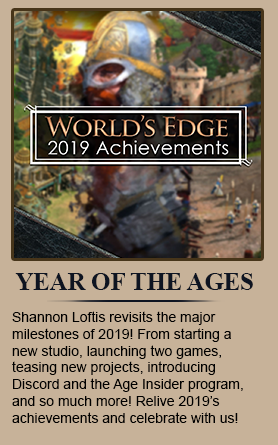 Shannon Loftis revisits the major milestones of 2019! From starting a new studio, launching two games, teasing new projects, introducing DIscord and the Age Insider program, and so much more! Relive 2019's achievements and celebrate with us!