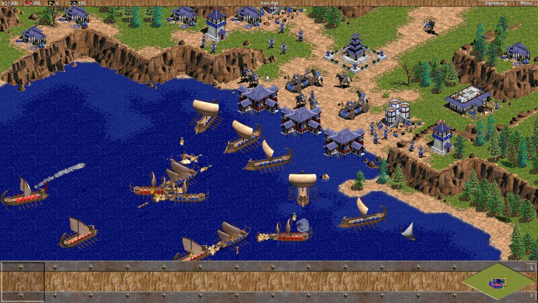 ... Age of Empires: Definitive Edition, we started building further on this  original engine as well. Modern tricks on top of the recognizable 2D engine  ...